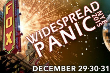 image for article Widespread Panic Announce 2015 New Years Eve Concerts in Georgia: Ticket Info