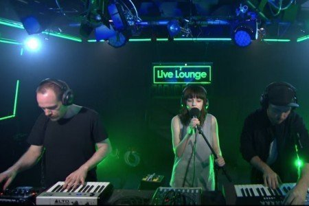 """What Do You Mean"" - CHVRCHES on BBC Radio 1 Live Lounge (Justin Bieber Cover) [YouTube Official Video]"