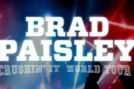 "image for article Brad Paisley Extends 2015-2016 Tour Dates: ""Crushin' It World Tour"" Ticket Presale Info"