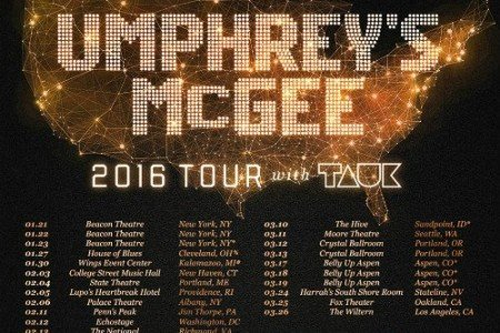 image for article Umphrey's McGee Announce 2016 Tour Dates With Tauk: Ticket Presale Codes