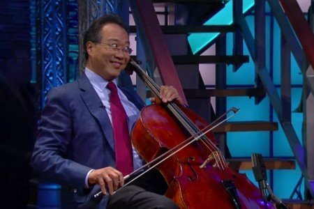 Yo-Yo Ma Performs With Special Guests on The Late Show with Stephen Colbert on Oct 5th, 2015 [YouTube Official Videos]