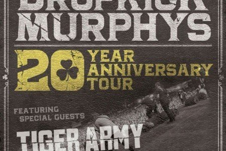 image for article Dropkick Murphys Set 20 Year Anniversary Tour Dates For 2016: Ticket Presale Code Info