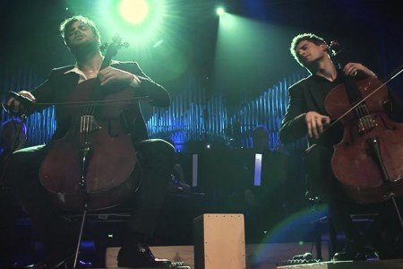 "image for article ""With Or Without You"" & ""Smooth Criminal"" - 2CELLOS at Lisinski Concert Hall in Croatia, June 2015 [YouTube Official Videos]"