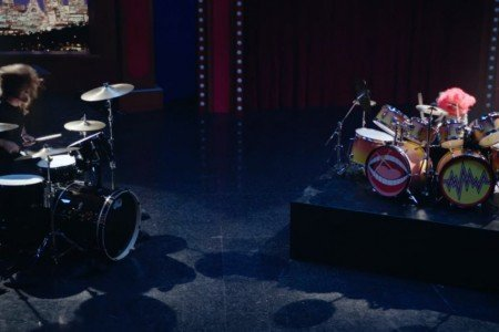 Watch Dave Grohl's Awesome Drum-Off with The Muppets' Animal [YouTube Official Video]