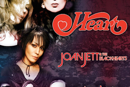 "Heart, Joan Jett & The Blackhearts, and Cheap Trick Plan ""Rock Hall Three For All"" 2016 Tour Dates"