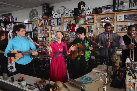 Watch Monsieur Periné's Exotic NPR Music Tiny Desk Concert [Official YouTube Video]