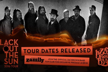 Zac Brown Band Sets 2016 Tour Dates: Ticket Presale Code Info