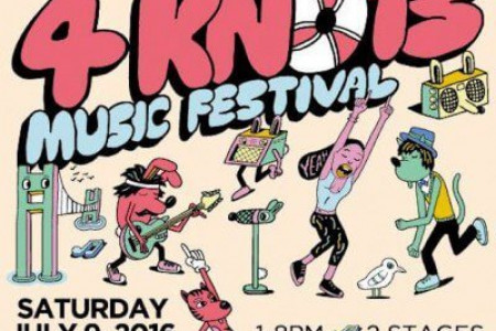 4Knots Music Festival Announced for New York City at South Street Seaport on Jul 9, 2016