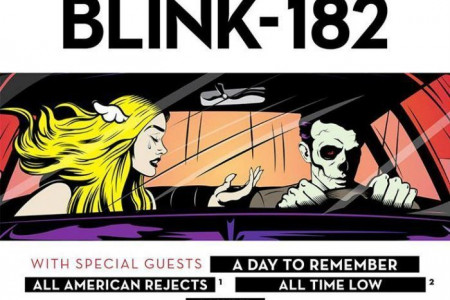 Blink-182 Sets 2016 Tour Dates with A Day To Remember, All-American Rejects, and All Time Low: Ticket Presale Code Info