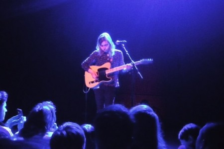 image for article Julien Baker Closed Out Her East Coast Tour with Phoebe Bridgers & Petal to a Sold Out Crowd at NYC's Bowery Ballroom on April 27, 2016 [Zumic Review + Photos]