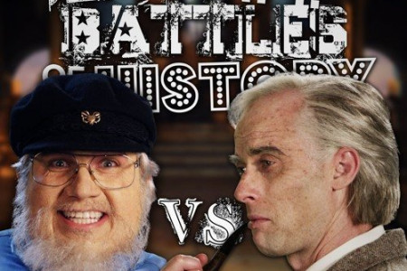 """J. R. R. Tolkien vs George R. R. Martin"" - Epic Rap Battles of History [YouTube Official Music Video]"