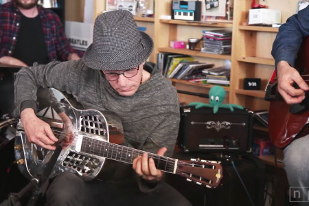 Watch Steve Kimock's Earthy Acoustic NPR Music Tiny Desk Concert [YouTube Video]