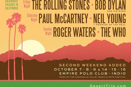 Ticket Prices Rising for Once-in-a-Lifetime Desert Trip Music Festival in Indio, California