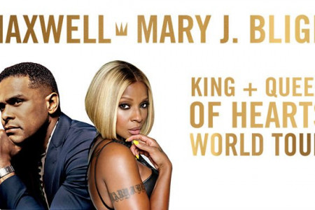 Maxwell and Mary J. Blige Set 2016 Tour Dates: Ticket Presale Code Info for the 'King + Queen of Hearts' Tour