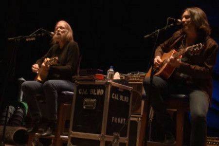 """These Days"" - Gregg Allman with Scott Sharrard at Laid Back Festival from Red Rocks on Sep 25, 2016 [YouTube Official Video]"