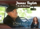 image for event James Taylor and Bonnie Raitt