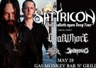 image for event Goatwhore, Sparrows, A Devil's Daydream and Satyricon