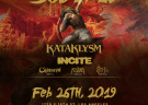 image for event Soulfly, Skinflint, Incite, and KATAKLYSM