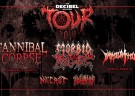image for event The Decibel Magazine Tour: Morbid Angel, Cannibal Corpse, Necrot, and Blood Incantation