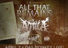 image for event All That Remains, Attila, Escape the Fate, and Sleep Signals