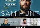image for event SAM HUNT - ATLANTIC CITY BEACH CONCERT