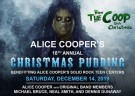 image for event Alice Cooper's Christmas Pudding