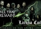 image for event All That Remains, Lacuna Coil, Toothgrinder, and Uncured