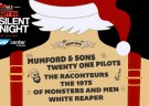 image for event ALT 105 Not So Silent Night: Mumford & Sons, Twenty One Pilots, The Raconteurs, The 1975, and more
