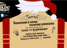 image for event ALT 92.3 Not So Silent Night: Mumford and Sons, Vampire Weekend, Cage the Elephant, and more