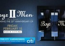 image for event Boyz II Men: 25th Anniversary of The Album II
