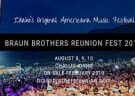 image for event Braun Brothers Reunion Fest