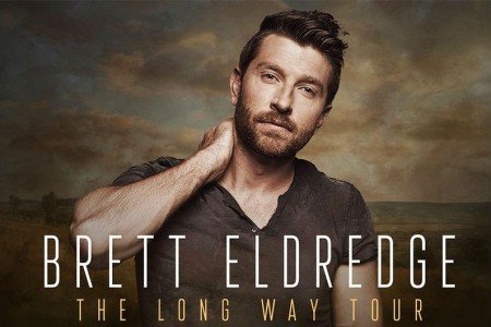 image for article Brett Eldredge Plots 2018 'The Long Way Tour' Dates: Ticket Presale Code & On-Sale Info