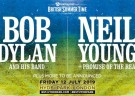 image for event British Summer Time: Bob Dylan, Neil Young, and more