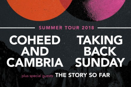 image for article Coheed And Cambria and Taking Back Sunday Plot 2018 Co-Headlining Tour Dates: Ticket Presale Code & On-Sale Info
