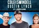 image for event Cole Swindell, Dustin Lynch, and Lauren Alaina