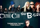image for event Culture Club, The B-52's, and Tom Bailey
