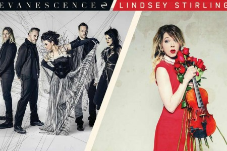image for article Evanescence and Lindsey Stirling Set 2018 Tour Dates: Ticket Presale Code & On-Sale Info