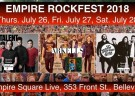 image for event Arkells, Billy Talent, EMPIRE ROCKFEST 2018 and The Glorious Sons