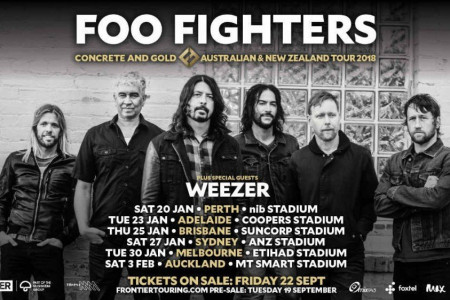 Foo Fighters and Weezer Announce 2018 Tour Dates in Australia and New Zealand: Ticket On-Sale Info