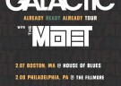 image for event Galactic and The Motet