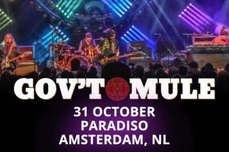 "image for article ""Fire & Water"" - Gov't Mule in Amsterdam, Netherlands on October 31, 2017 (Free Cover) [YouTube Audio]"