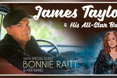 image for article James Taylor & Bonnie Raitt Add 2018 Tour Dates: Ticket Presale Code & On-Sale Info