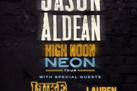 image for article Jason Aldean Adds 2018 Tour Dates with Luke Combs and Lauren Alaina: Ticket Presale Code & On-Sale Info