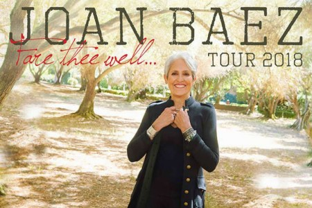 image for article Joan Baez Plans 2018 Tour Dates: Ticket Presale Code & On-Sale Info