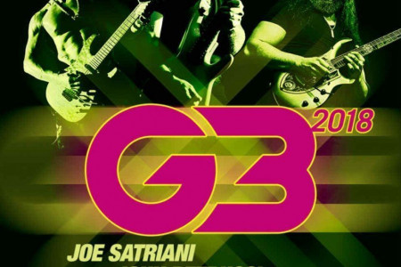 Joe Satriani Announces 2018 'G3' Tour With John Petrucci and Phil Collen: Ticket Presale Code & On-Sale Info
