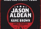 image for event Jason Aldean, Kane Brown, Carly Pearce, Dee Jay Silver