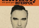 image for event Morrissey and Interpol