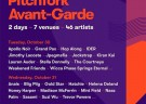 image for event Pitchfork Avant-Garde Paris 2018