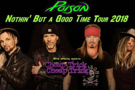 image for article Poison & Cheap Trick Plot 2018 Tour Dates: Ticket Presale Code & On-Sale Info