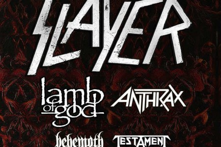 image for article Tickets on Sale for Slayer 2018 'Farewell' Tour Dates